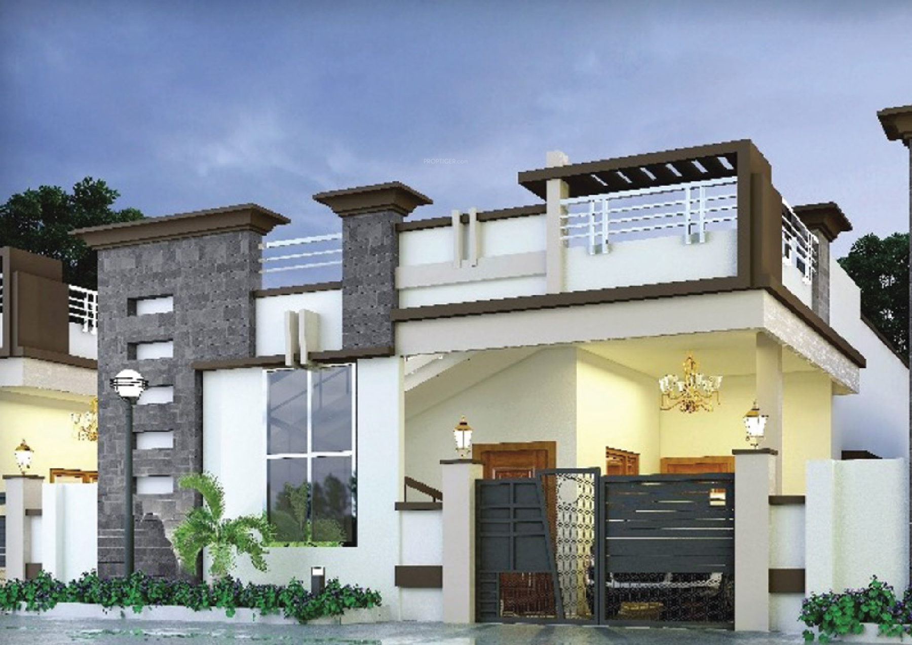 550 Sq Ft 2 Bhk 1t Villa For Sale In Smithila Foundations