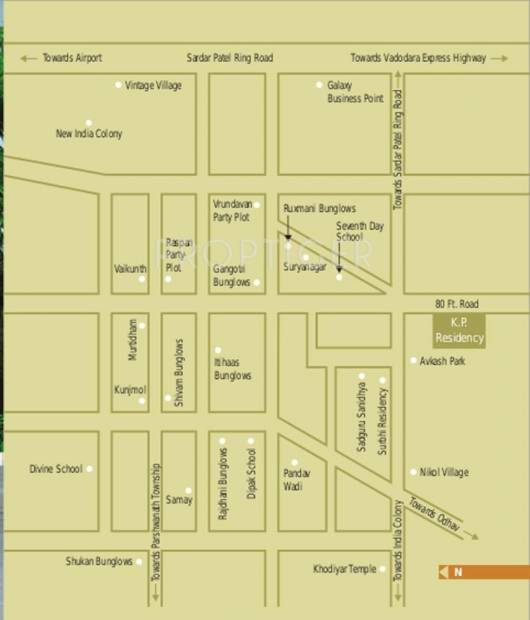 residency Images for Location Plan of KP Residency