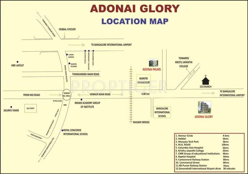 Images for Location Plan of Adonai Adonai Glory