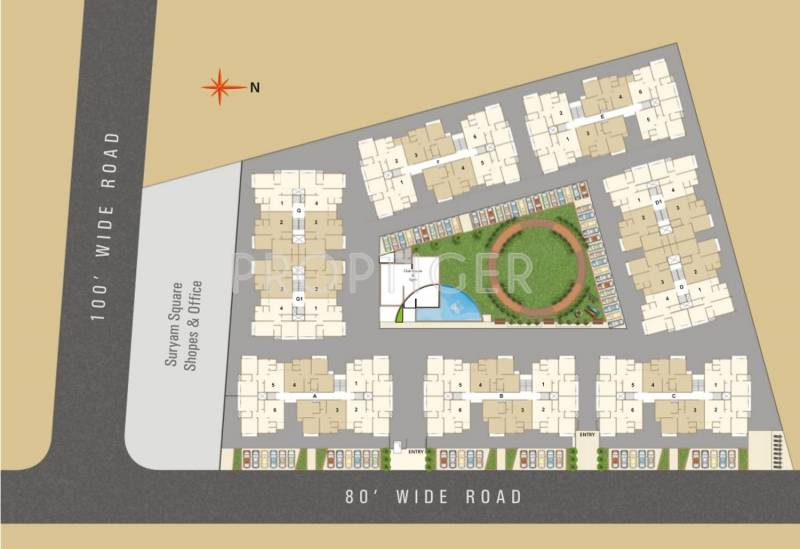 Images for Layout Plan of Suryam Sky