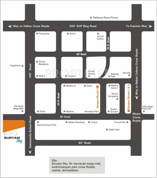 Images for Location Plan of Suryam Sky