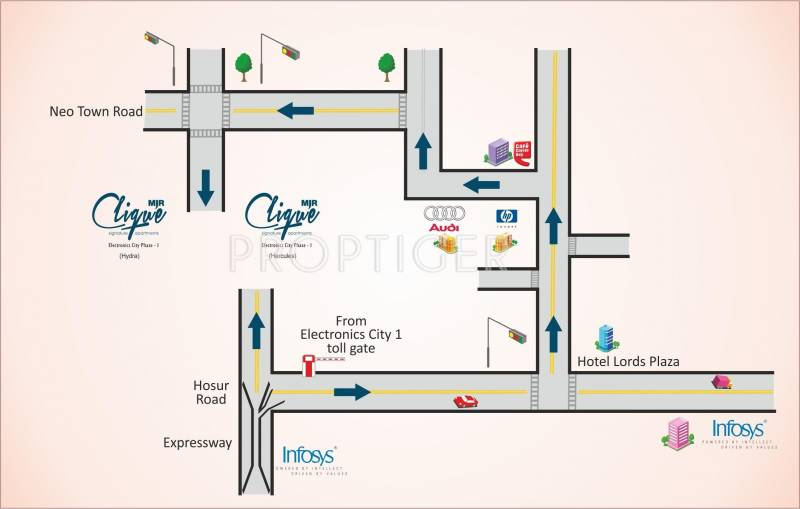Images for Location Plan of MJR Clique Hydra