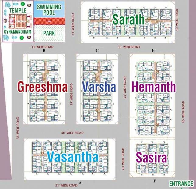 Images for Layout Plan of Amma Galaxy City Vasantha