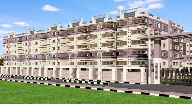 Images for Elevation of Amma Galaxy City Vasantha