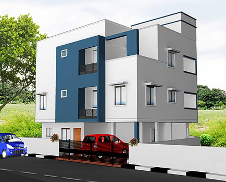 Images for Elevation of Geejay Bhogar Flats