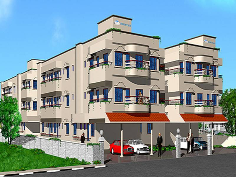 Images for Elevation of Himayam Engineers and Builders Arunodaya Apartments