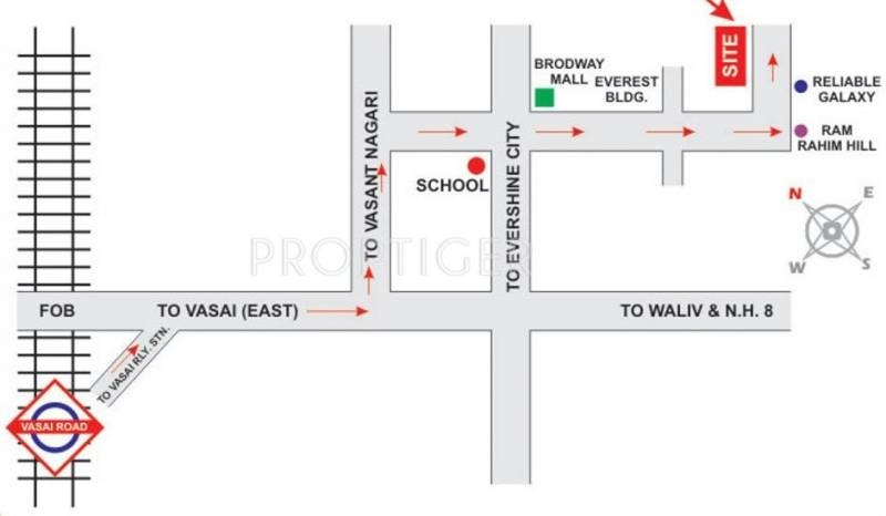 Images for Location Plan of Mira Shree Krishna Complex