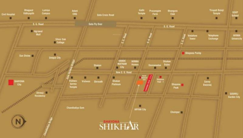 Images for Location Plan of Shayona Shikhar