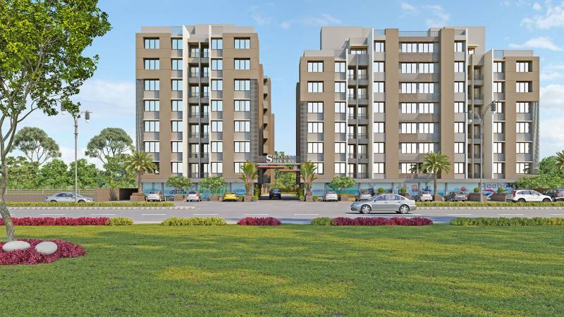 Images for Elevation of Shayona Shikhar