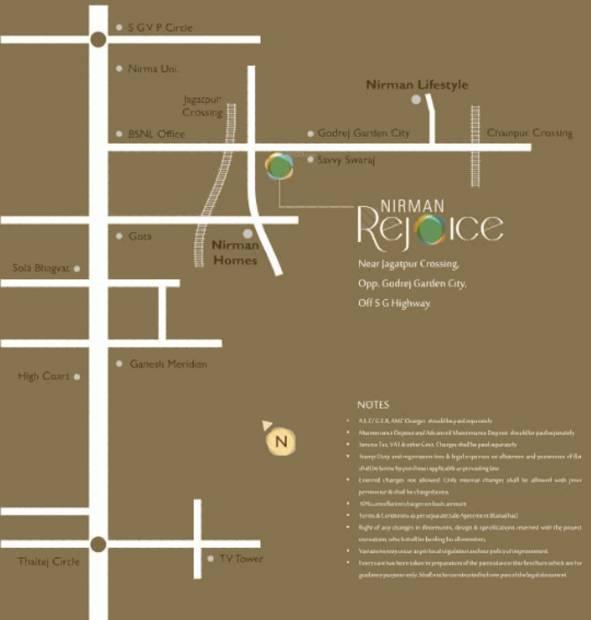 Images for Location Plan of Nirman Rejoice