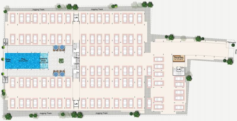 Images for Cluster Plan of Ashwini Flora