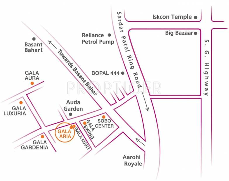 Images for Location Plan of Gala Aria