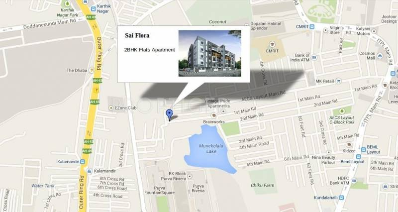 Images for Location Plan of CMRS Sai Flora