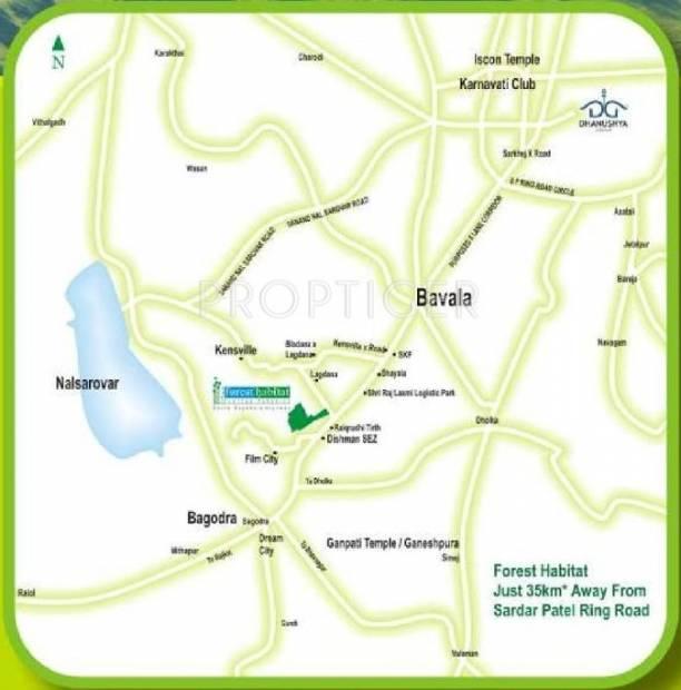 Images for Location Plan of Dhanushya Forest Habitat