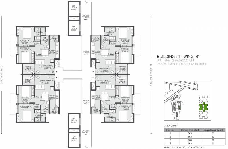 Images for Cluster Plan of Godrej Greens