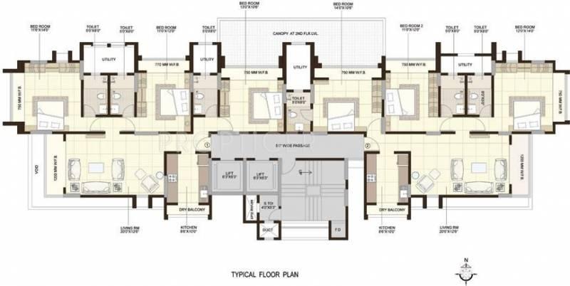 Images for Cluster Plan of Shree Krishna Horizon