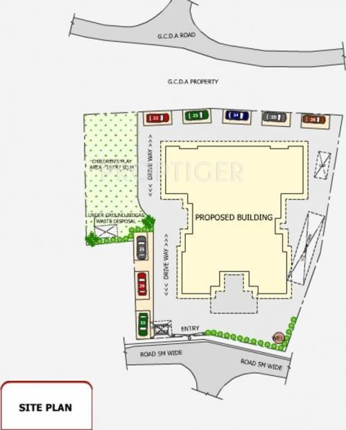 Images for Site Plan of EV Sinai
