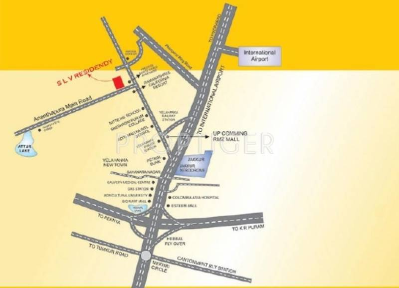 Images for Location Plan of Alisha Projects SLV Residency
