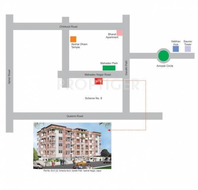 Images for Location Plan of Dreamax Star Excellency