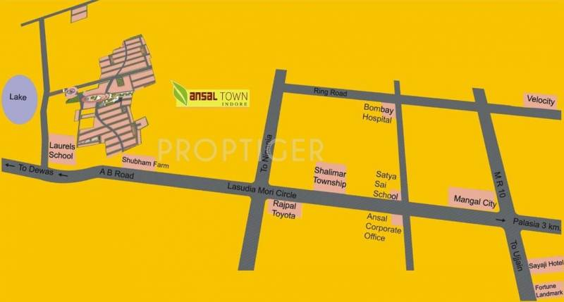 Images for Location Plan of Ansal Town Villa
