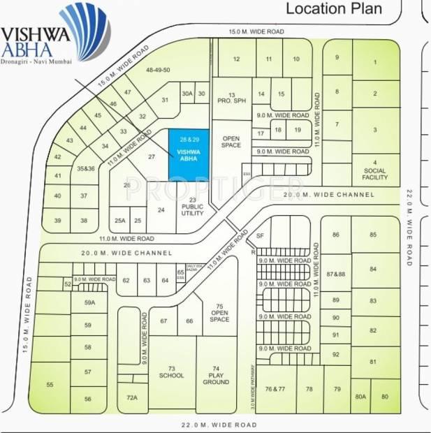 Images for Location Plan of Vishwa Abha
