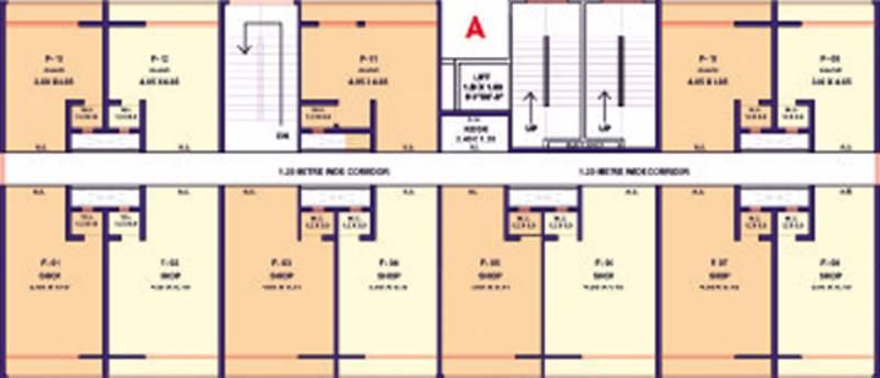 Images for Cluster Plan of Haware Leelaangan