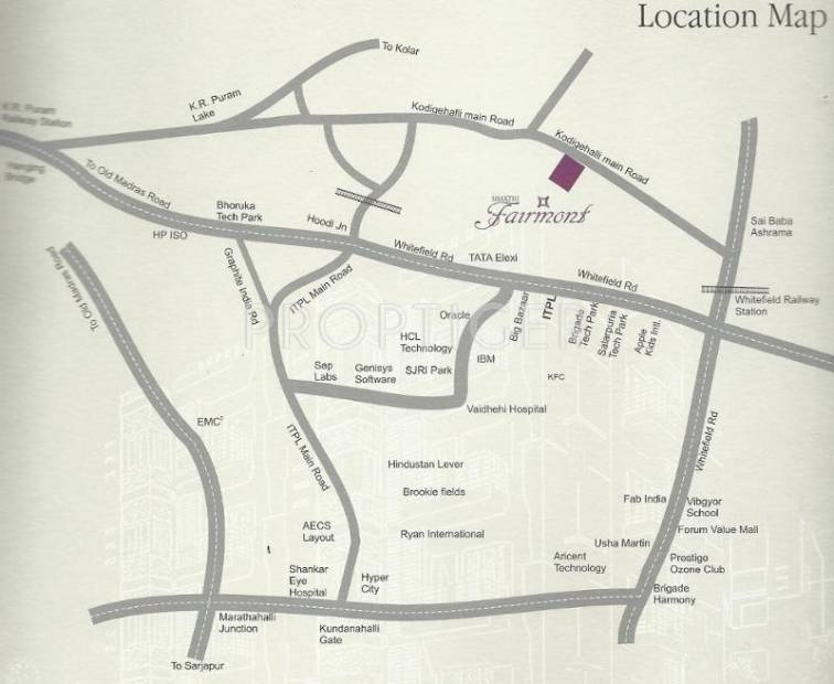 Images for Location Plan of Shakthi Shakthi Fairmont