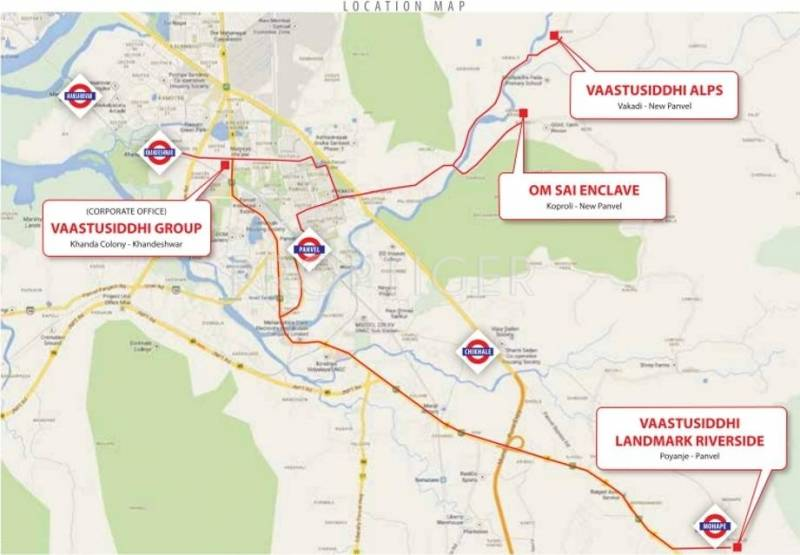 Images for Location Plan of Vaastu Landmark Riverside
