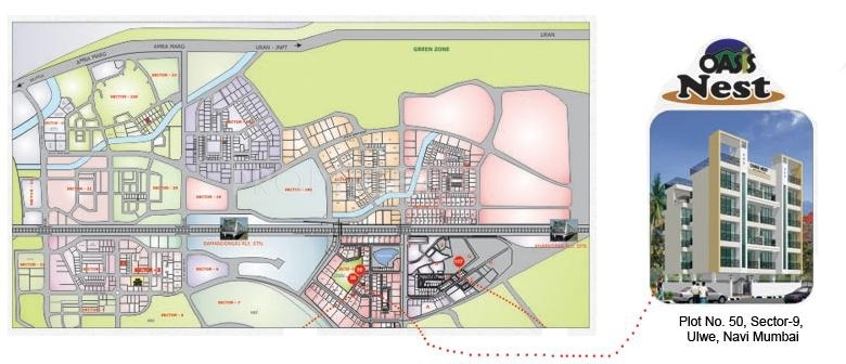 Oasis Builders Nest Location Plan