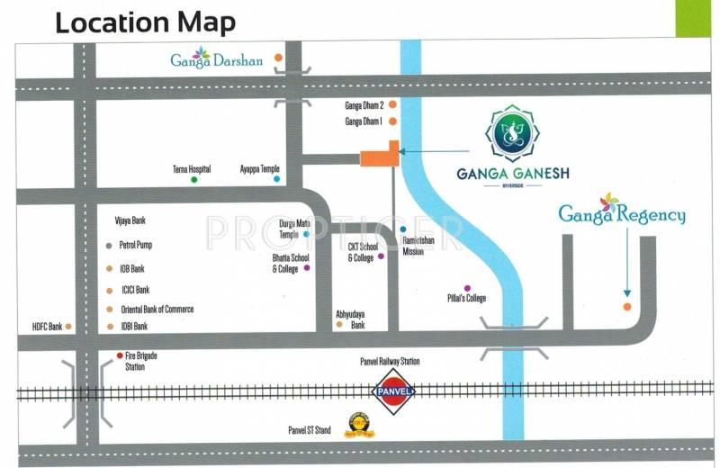 ganesh Images for Location Plan of Ganga Ganga Ganesh