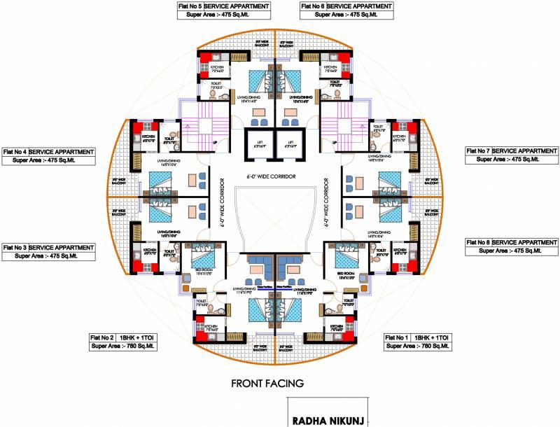 Images for Cluster Plan of Koshda Mandakini