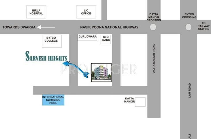 Images for Location Plan of Shree Balaji Sarvesh Heights