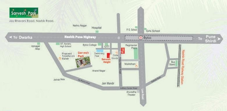 Images for Location Plan of Shree Balaji Sarvesh Park