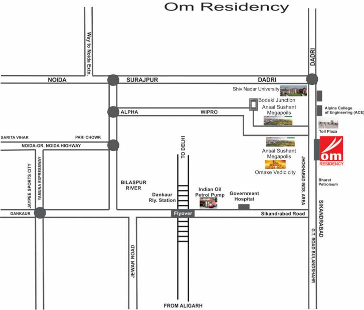Images for Location Plan of Om Om Residency