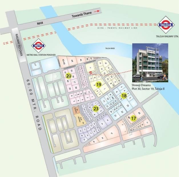 Images for Location Plan of Shreeji Dreams