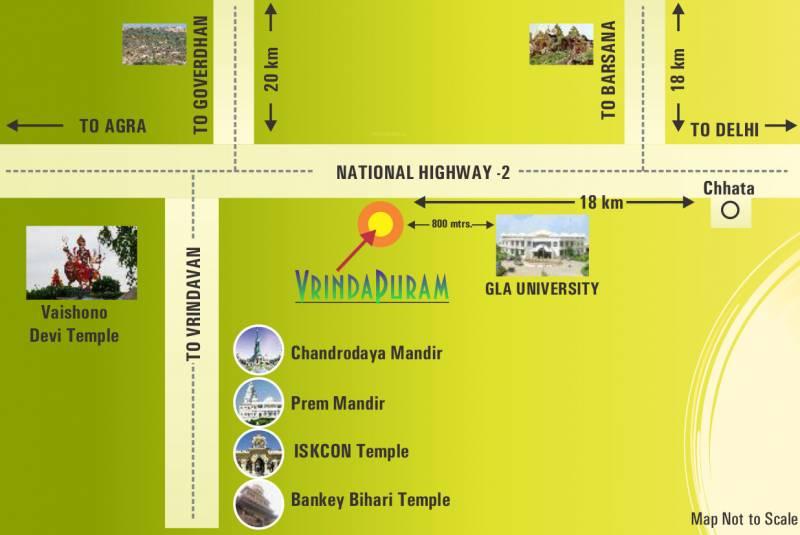 Images for Location Plan of NK Vrindapuram Villa