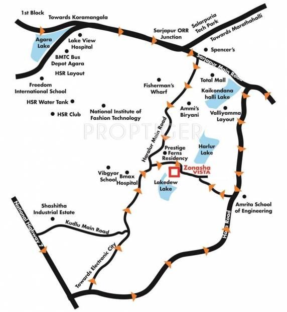 Images for Location Plan of Zonasha Vista