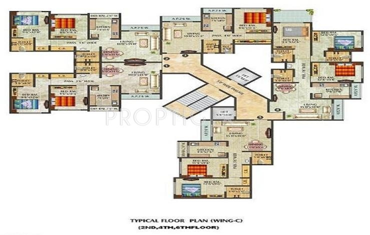 450 sq ft 1 bhk 1t apartment for sale in thanekar for 450 square foot apartment floor plan