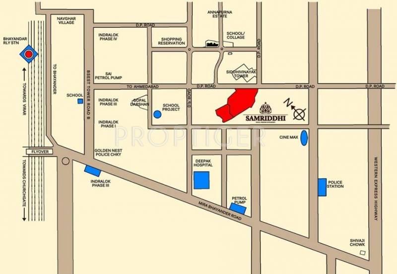 samriddhi Images for Location Plan of Ashish Samriddhi
