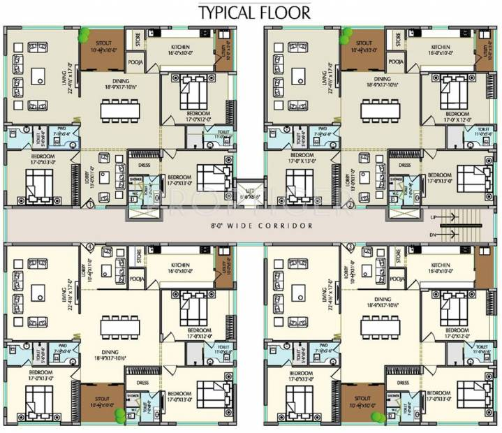 Images for Cluster Plan of Balaji Dolphin Heights