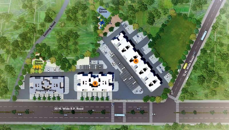 Images for Layout Plan of Vilas Javdekar Yash One Phase I