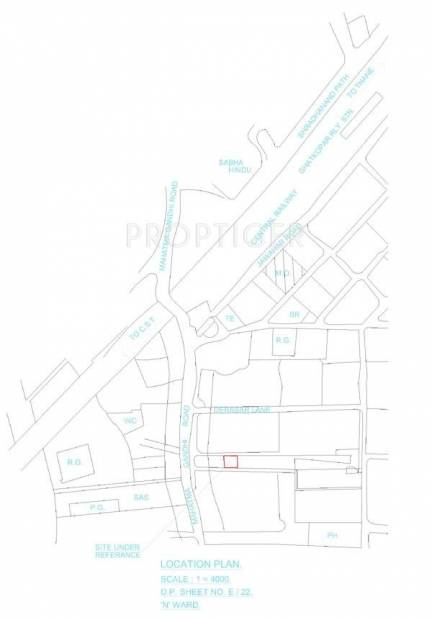 Images for Location Plan of Shreenath Krupa