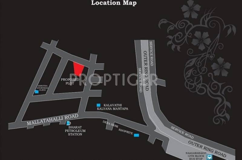 Images for Location Plan of Tirumala Balaji Heights IV