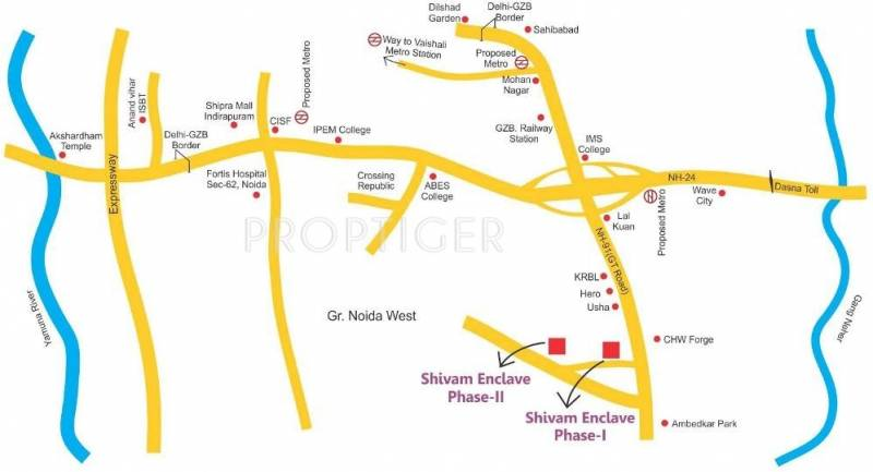 Images for Location Plan of Salvos Shivam Residency
