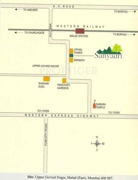 Images for Location Plan of Ashish Estates Sahyadri