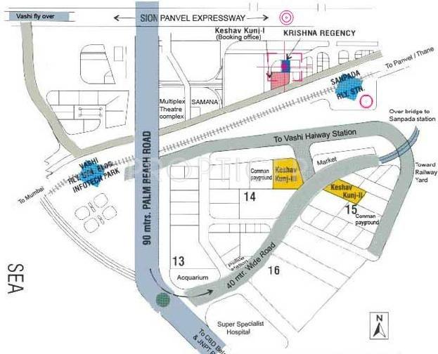 Images for Location Plan of V R Mittal Builder Krishna Regency
