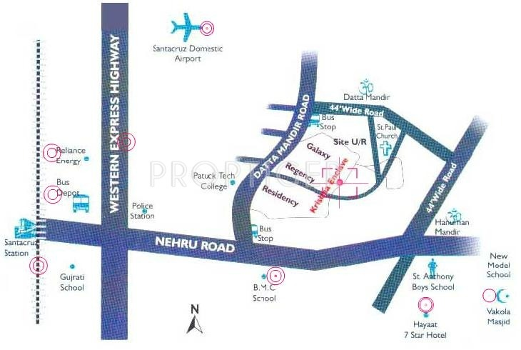 Images for Location Plan of Asha Krishna Enclave