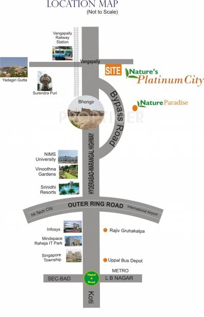 Images for Location Plan of Nature Platinum City