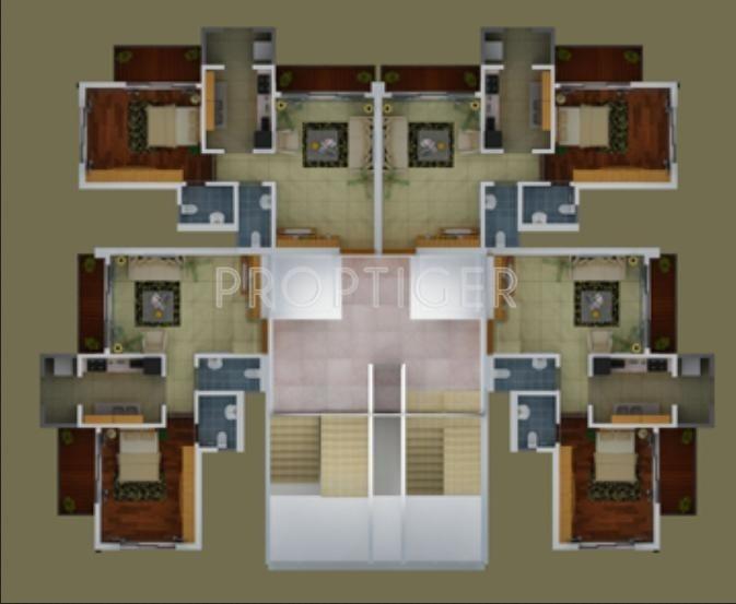 Images for Cluster Plan of Damji Hirji Hiramani Enclave