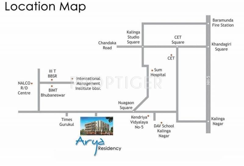 Images for Location Plan of Arya Arya Residency